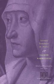Cover of: Sacred narratives