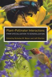 Plant-pollinator interactions