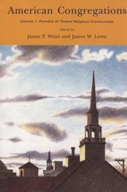 Cover of: American Congregations, Volume 1 |