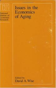 Cover of: Issues in the economics of aging |