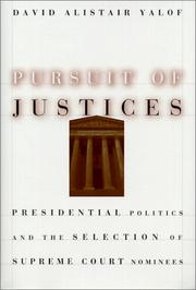 Cover of: Pursuit of Justices