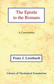 Cover of: The Epistle to the Romans