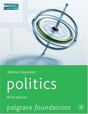 Cover of: Politics | Andrew Heywood