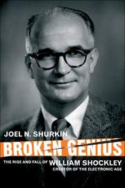 Cover of: Broken Genius | Joel N. Shurkin