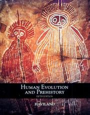 Cover of: Human evolution and prehistory