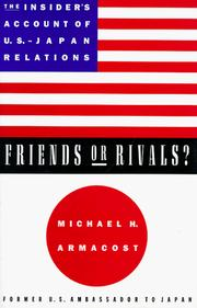 Cover of: Friends or rivals?