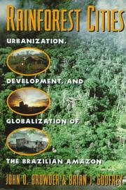 Cover of: Rainforest cities