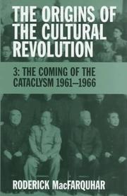 Cover of: The Origins of the Cultural Revolution, Volume 3