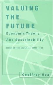 Cover of: Valuing the Future