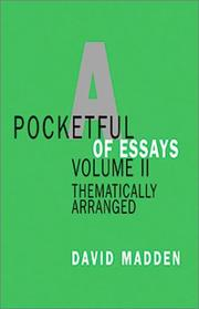 Cover of: Pocketful of Essays, Volume II