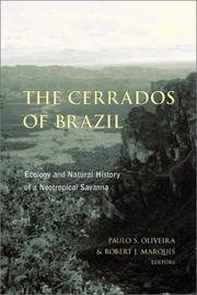 Cover of: The Cerrados of Brazil |