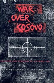 Cover of: War over Kosovo |