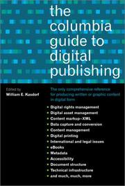 Cover of: The Columbia guide to digital publishing |