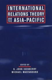 Cover of: International Relations Theory and the Asia-Pacific |