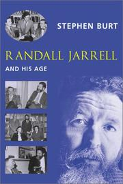 Cover of: Randall Jarrell and His Age