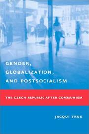 Cover of: Gender, Globalization, and Postsocialism | Jacqui True
