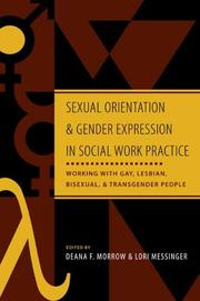 Cover of: Sexual orientation and gender expression in social work practice |
