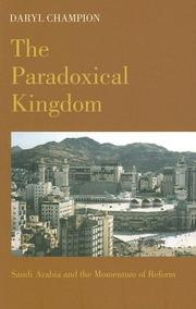 The Paradoxical Kingdom by Daryl Champion