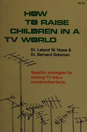 How to raise children in a TV world