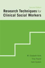 Cover of: Research Techniques for Clinical Social Workers | Elizabeth M. Vonk