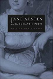 Cover of: Jane Austen and the romantic poets