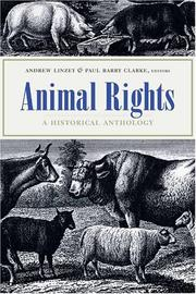 Cover of: Animal Rights |