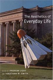 Cover of: The Aesthetics of Everyday Life |