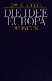 Die Idee Europa