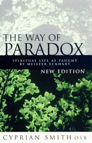 The way of paradox by Cyprian Smith
