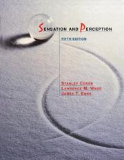 Cover of: Sensation and perception | Stanley Coren