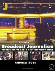 Cover of: Broadcast journalism