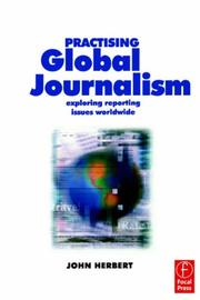 Cover of: Practising Global Journalism