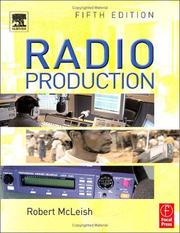 Cover of: Radio production