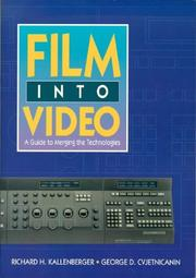 Cover of: Film into video