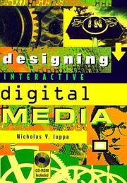 Cover of: Designing interactive digital media