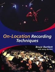 Cover of: On-location recording techniques |