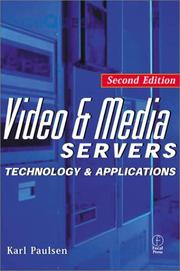 Cover of: Video and Media Servers