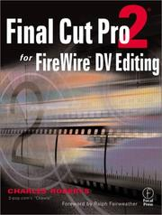 Cover of: Final Cut Pro 2 for FireWire DV Editing