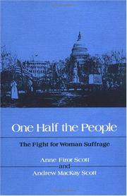 Cover of: One half the people