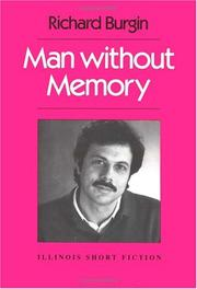 Cover of: Man without memory