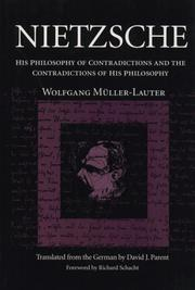 Cover of: Nietzsche