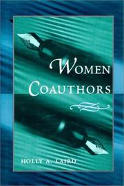Cover of: Women coauthors
