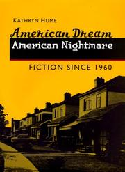 Cover of: American Dream, American Nightmare