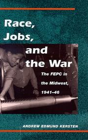 Cover of: Race, jobs, and the war