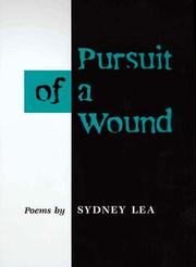 Cover of: Pursuit of a wound