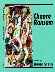 Cover of: Chance ransom: poems