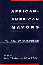 Cover of: African-American Mayors
