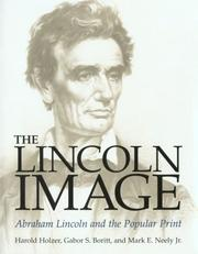 Cover of: The Lincoln image
