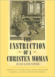 Cover of: The instruction of a Christen woman