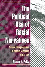 Cover of: The Political Use of Racial Narratives